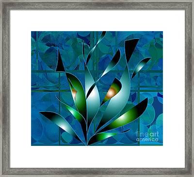 Planted Beauty Framed Print by Iris Gelbart