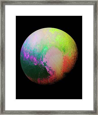 Pluto Framed Print by Nasa/jhuapl/swri
