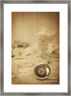 Pocket Watch Framed Print by Amanda And Christopher Elwell