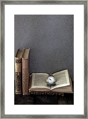 Pocket Watch Framed Print by Joana Kruse