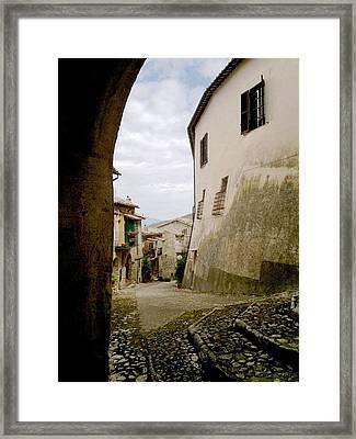 Poggio Catino Italy Framed Print by Giuseppe Epifani