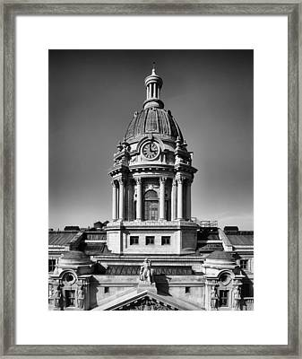 Police Headquarters - New York City Framed Print by Mountain Dreams