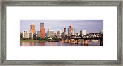 Portland, Oregon, Usa Framed Print by Panoramic Images
