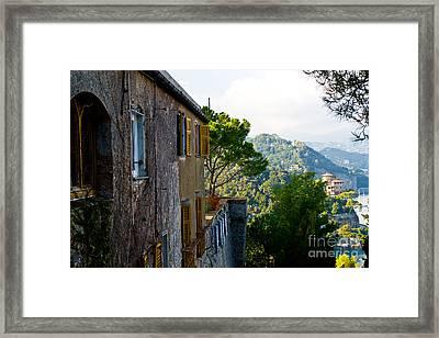 Portofino Framed Print by Carl Jackson