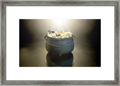 Pot Of Gold Framed Print by Allan Swart
