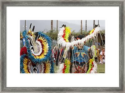 Pow Wow Framed Print by Stellina Giannitsi