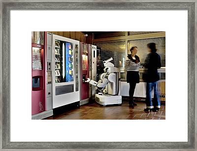 Pr2 Robot Research Framed Print by Patrick Landmann