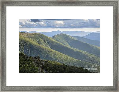 Presidential Range - White Mountains New Hampshire Framed Print by Erin Paul Donovan