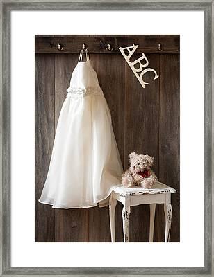 Pretty Dress Framed Print by Amanda Elwell