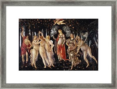 Primavera Framed Print by Sandro Botticelli