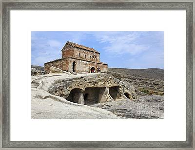 Prince's Church In Uplistsikhe Gori Georgia  Framed Print by Robert Preston