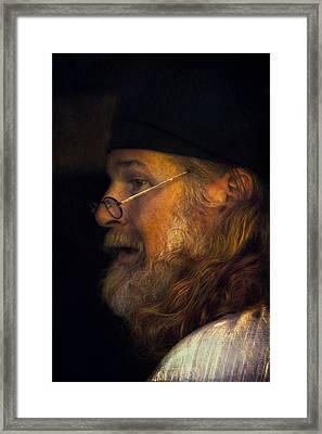 Profile Framed Print by John Rivera
