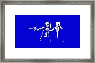 Pulp Wars  Framed Print by Patrick Charbonneau