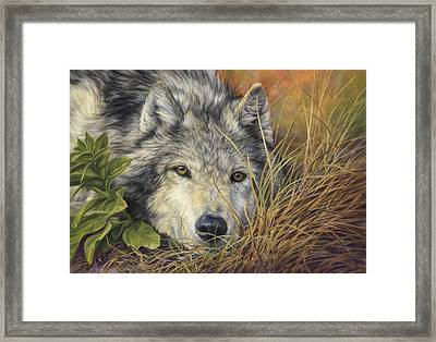 Pure Soul Framed Print by Lucie Bilodeau