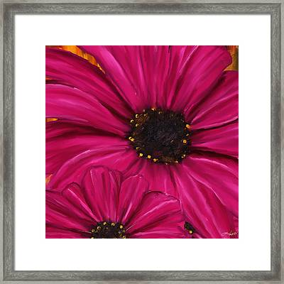 Purple Beauty Framed Print by Lourry Legarde