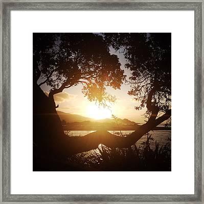 Raglan Framed Print by Les Cunliffe