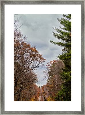 Railroad Framed Print by Robert Strasser