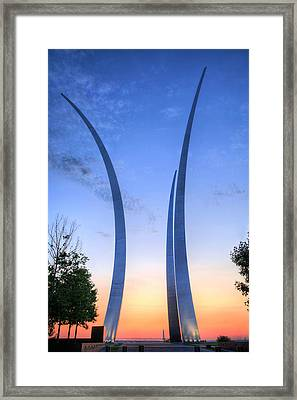 Reaching Skyward Framed Print by JC Findley