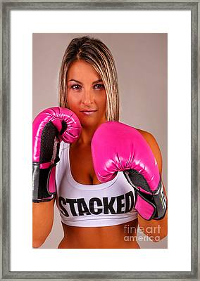 Ready To Rumble - Boxing Framed Print by Lee Dos Santos