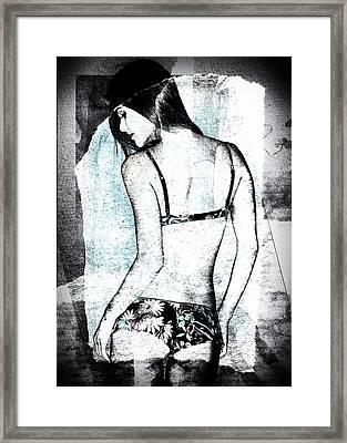 Rear View Framed Print by David Ridley