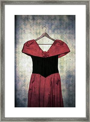 Red Dress Framed Print by Joana Kruse
