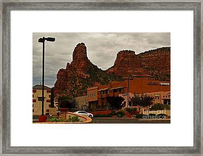 Red Rock Country Framed Print by Beverly Guilliams