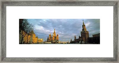 Red Square Moscow Russia Framed Print by Panoramic Images
