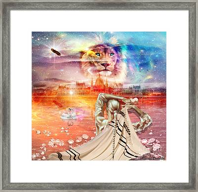 Reflection  Framed Print by Dolores Develde