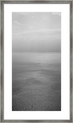 Reflection Of Clouds On Water, Lake Framed Print by Panoramic Images