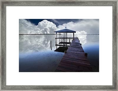 Reflections Framed Print by Debra and Dave Vanderlaan