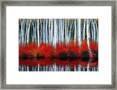 Reflections - Sold Framed Print by Michael Swanson