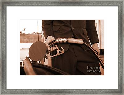 Refuelling Framed Print by Jorgo Photography - Wall Art Gallery
