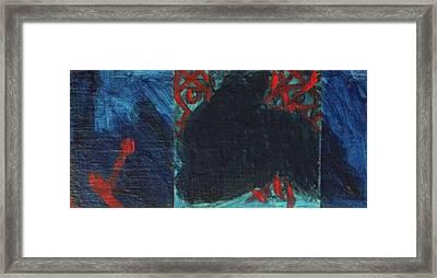 Regret Framed Print by Hatin Josee