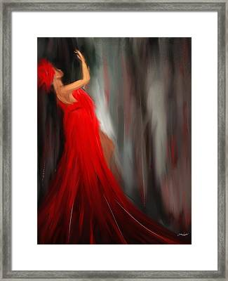 Resonating Admiration Framed Print by Lourry Legarde