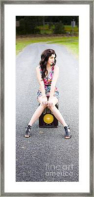 Retro Communication And Media Framed Print by Jorgo Photography - Wall Art Gallery