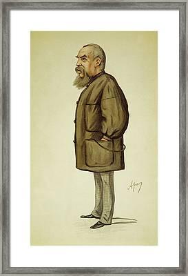 Richard Burton (1821-1890) Framed Print by Granger