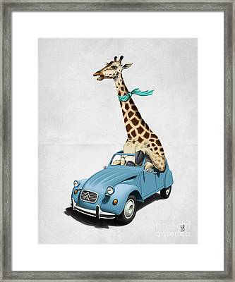 Riding High Wordless Framed Print by Rob Snow