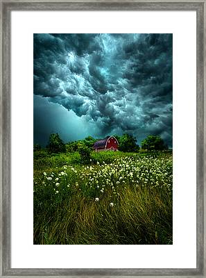 Riding The Storm Out Framed Print by Phil Koch