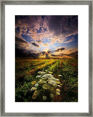 Rise And Shine Framed Print by Phil Koch