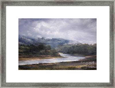 River Framed Print by James Taylor