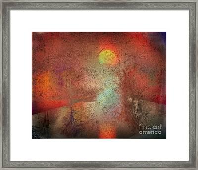 River Of Light Framed Print by Edmund Nagele