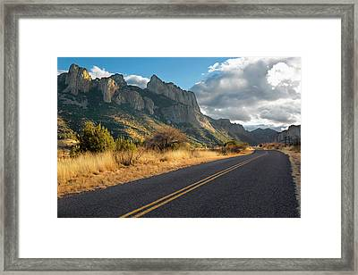 Road To Portal, Arizona Framed Print by Susan Degginger