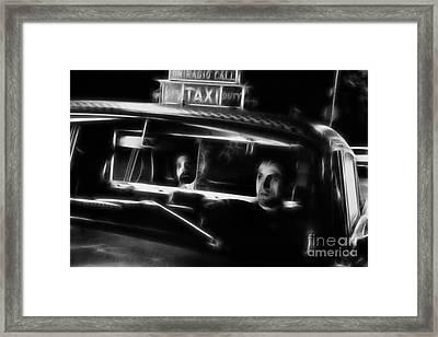 Robert De Niro Framed Print by Doc Braham