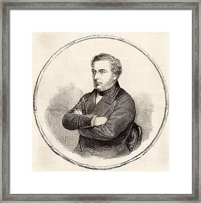 Robert Stephenson Framed Print by Universal History Archive/uig