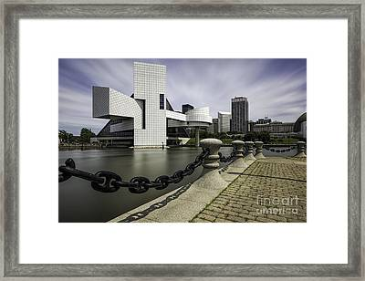 Rock And Roll Framed Print by James Dean