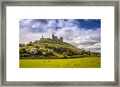 Rock Of Cashel Ireland Framed Print by Pierre Leclerc Photography