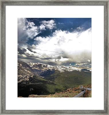 Rocky Mountain National Park Framed Print by Dan Sproul