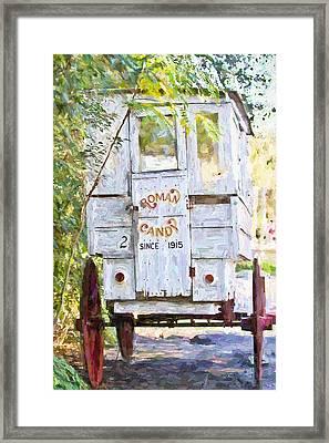 Roman Candy Framed Print by Scott Pellegrin