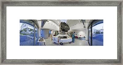 Rosetta Spacecraft Engineering Model Framed Print by European Space Agency/j. Mai