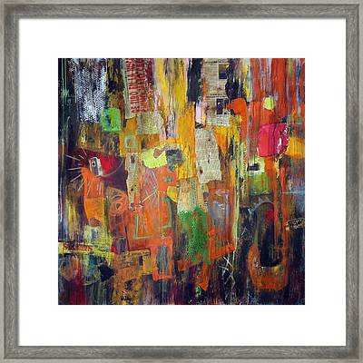 Route 69 Framed Print by Katie Black